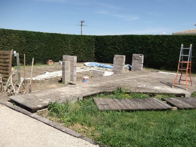 R alisation piscine coque 9 5x4 plage environnement for Piscine coque forum